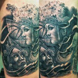 Black and Grey Tattoo Ibud Tattoo Studio Bali (24)