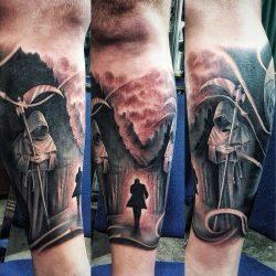 Black and Grey Tattoo Ibud Tattoo Studio Bali (33)