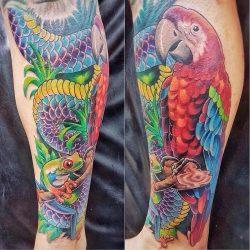 Color Tattoo Ibud Tattoo Studio Bali (17)-min