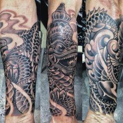 Oriental Asian Tattoo Ibud Tattoo Studio Bali (1)-min