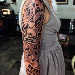 Tribal Tattoo Ibud Tattoo Studio Bali (1)-min